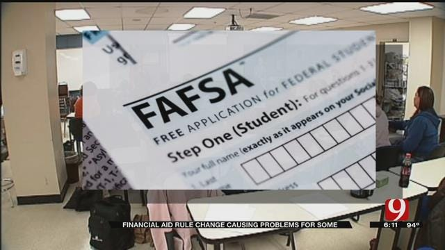 Financial Aid Rule Change Causing Problems For Some OK College Students