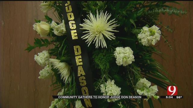 Community Gathers To Remember OK Co. Judge Don Deason