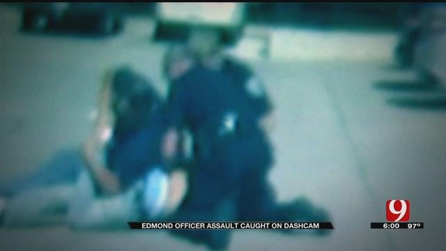 Edmond Officer Assault Captured On Dashcam Video