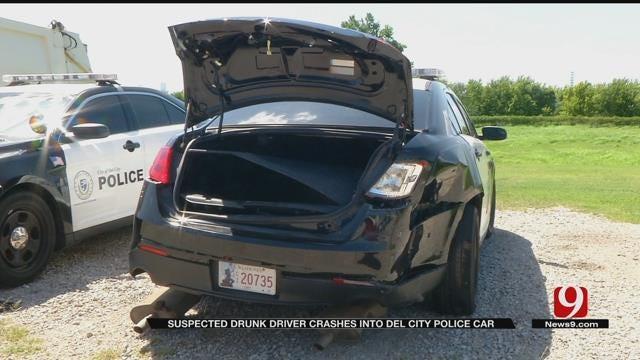 Suspected Drunk Driver Crashes Into Del City Police Car