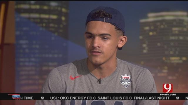 Norman North's Trae Young In The Studio