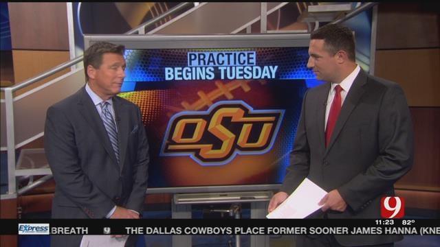 OSU Football Practice Begins Tuesday