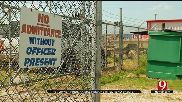 Pet Owner Finds Animal Remains At El Reno Shelter