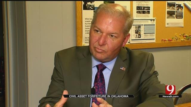 Joint Police Team Defends Civil Asset Forfeiture In OK