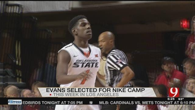 OSU's Jawun Evans Headed to Elite Nike Camp