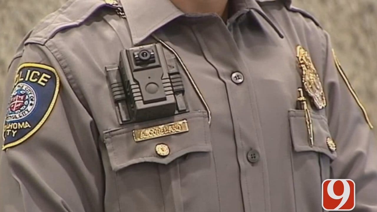 WEB EXTRA: Grant Hermes Updates On When OKC Officers Can Get Bodycams Back