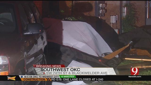Overnight Storms Damage OKC Apartment Complex