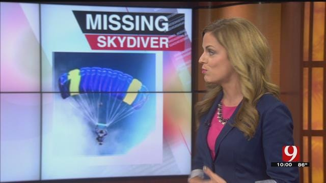 Authorities Search For Skydiver Near Cushing