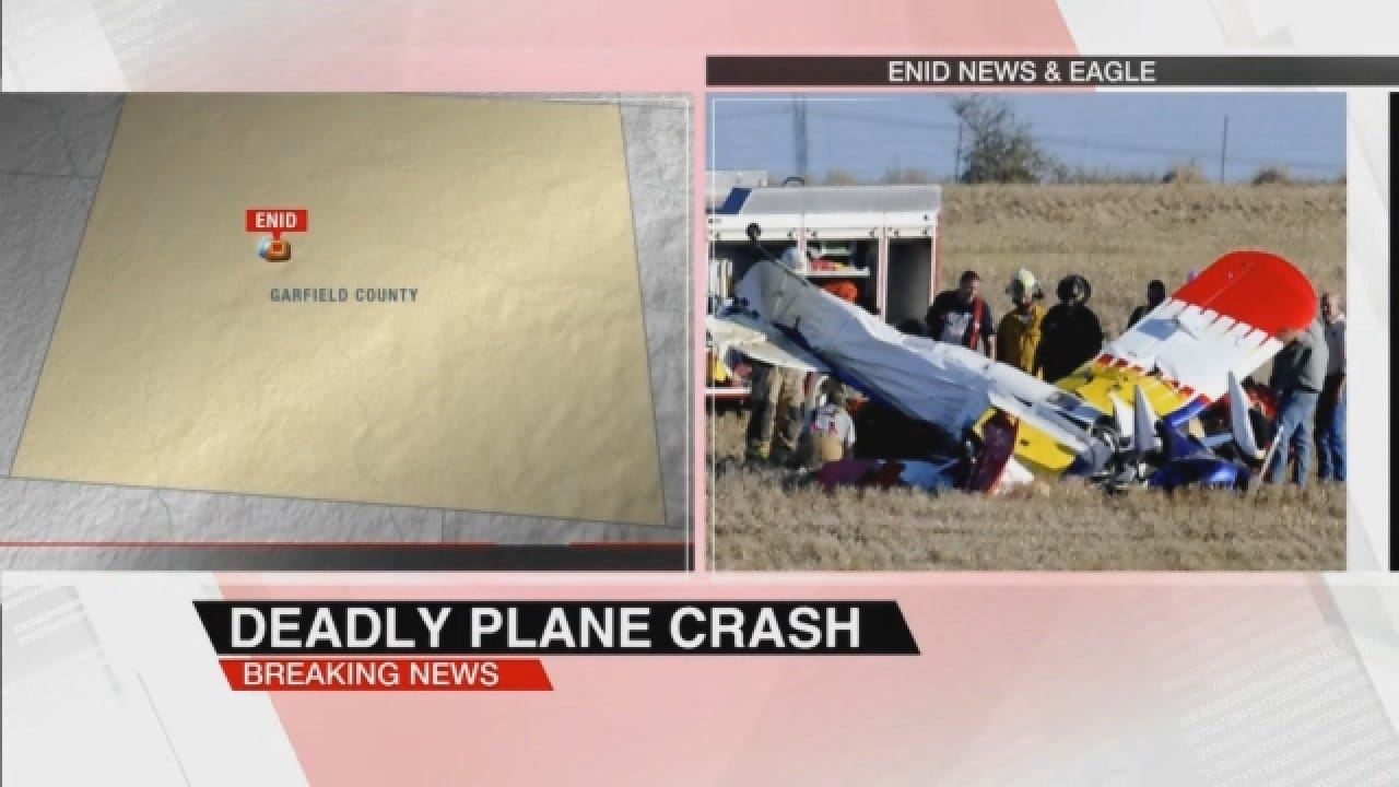 Two People Killed In Plane Crash E. Of Enid