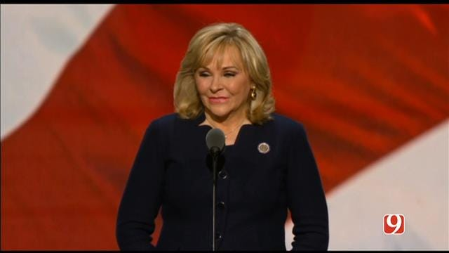 WEB EXTRA: Gov. Mary Fallin Addresses RNC On Final Night