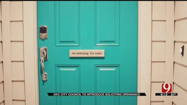 OKC Councilman Proposing Ordinance To Cut Solicitor Hours