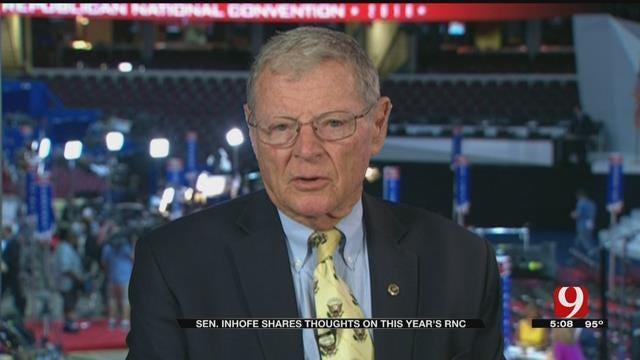 Sen. Jim Inhofe Weighs In On Republican National Convention