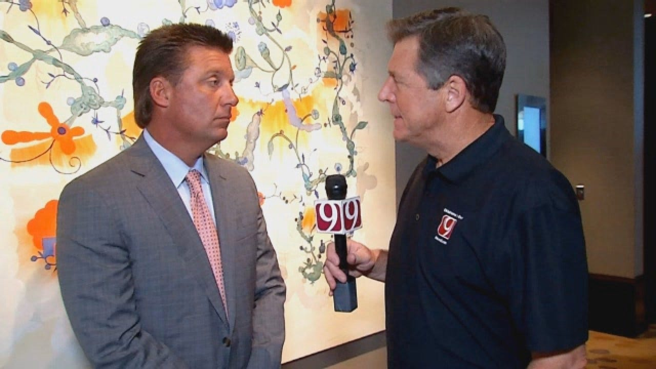 Dean Goes 1-on-1 With OSU's Mike Gundy and Mason Rudolph