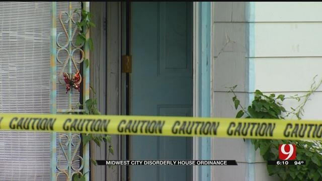 Midwest City Police To Start Issuing 'Disorderly House' Citations