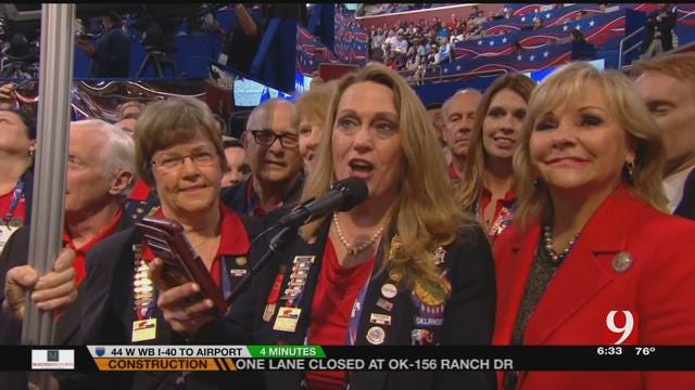 Oklahomans At the Republican National Convention