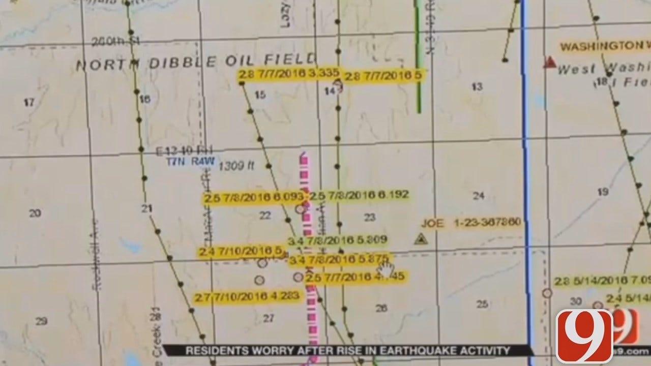 WEB EXTRA: Dana Hertneky Updates On Earthquake Spike Near Blanchard