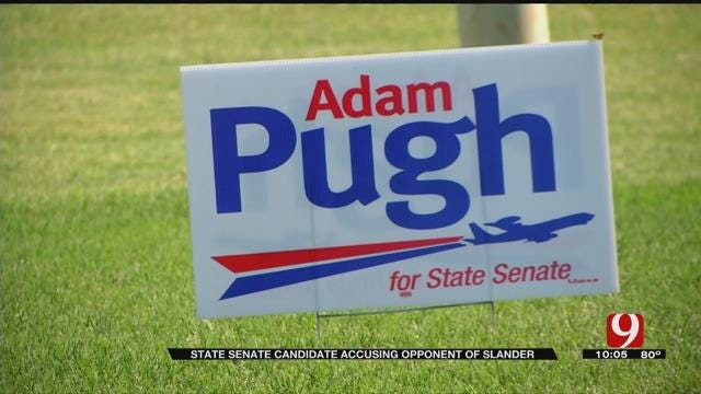 State Senate Candidate Accuses Opponent Of Slander