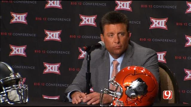 Mike Gundy Speaks At Big 12 Media Days