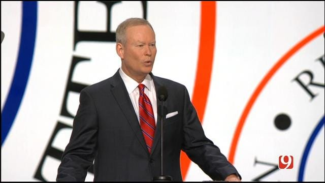 WEB EXTRA: OKC Mayor Mick Cornett Speaks At RNC