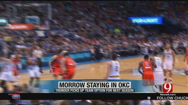 Anthony Morrow To Stay In OKC