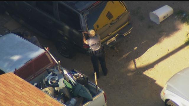 Bob Mills SkyNews 9 HD Flies Over Standoff After Shooting In SW OKC
