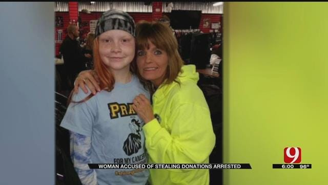 Stroud Woman Arrested, Accused Of Stealing Donations From Cancer Patient's Family