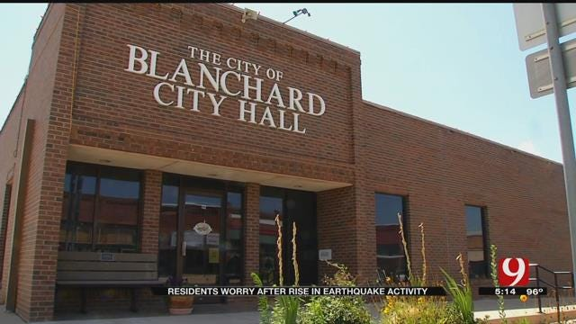 Blanchard Residents Concerned Over Recent Rash Of Earthquakes