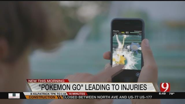 Real-Life Injuries Reported Amid 'Pokemon Go' Craze