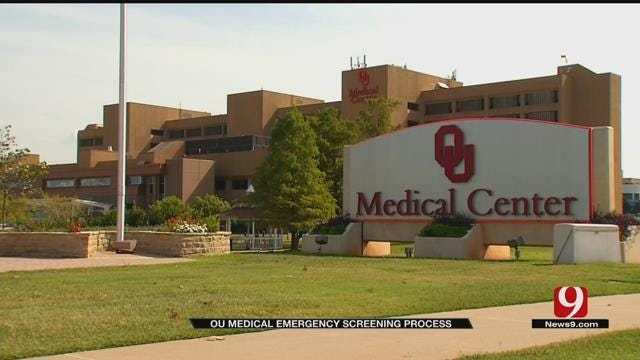 A Look At OU Medical Center's 'Emergency Screening Process'