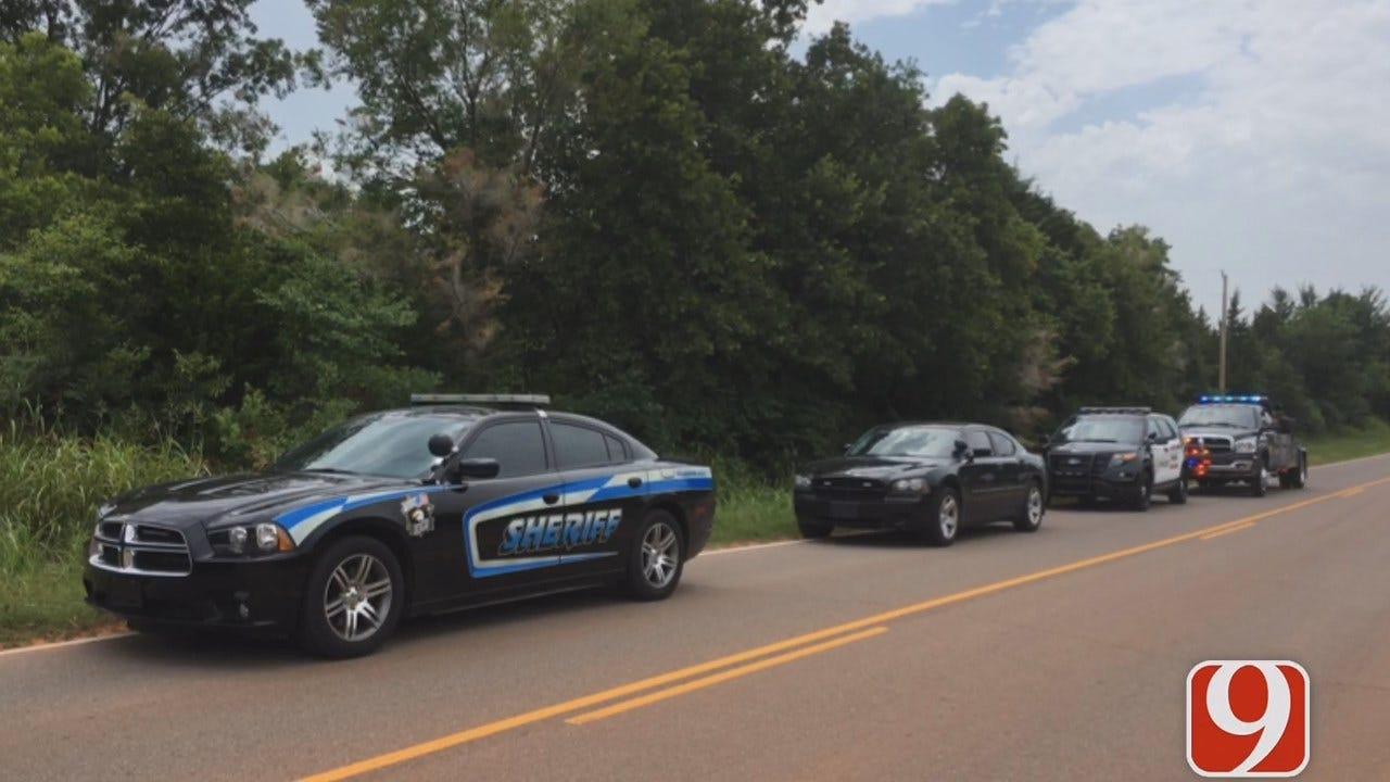 Manhunt Underway Near Luther