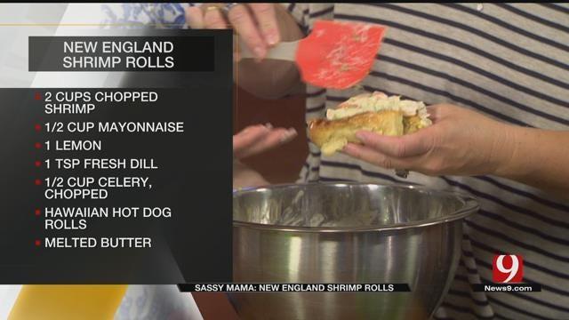 New England Shrimp Rolls