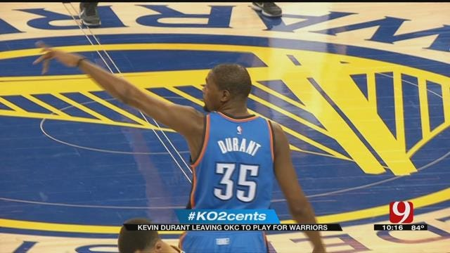 My 2 Cents: Kevin Durant Leaving OKC To Play For Warriors