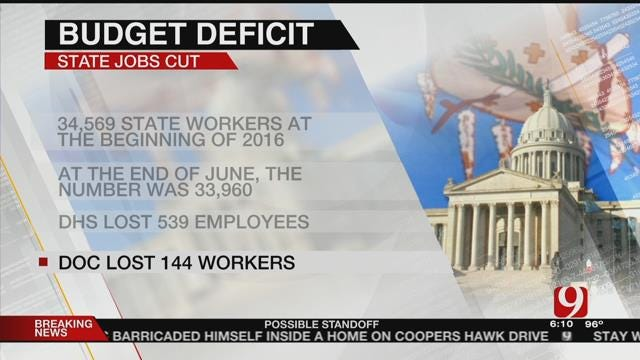 Budget Hole Causes State Jobs To Be Cut