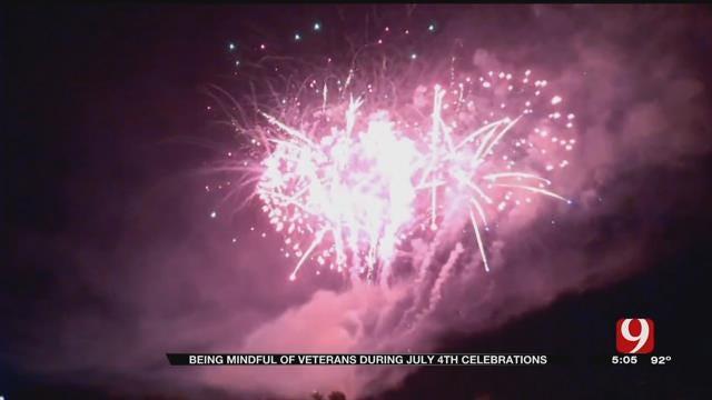 OKC Veteran Says Fireworks Trigger War Memories