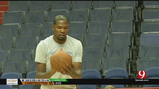 OKC Eagerly Waits For Kevin Durant's Decision