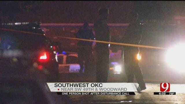 One Person Shot After Disturbance Call In SW OKC