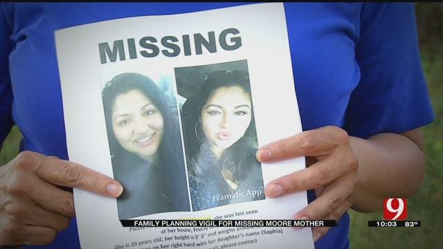 Family Planning Vigil For Missing Moore Mother