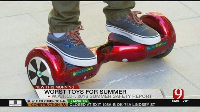 Watchdog Group Releases List Of Dangerous Summer Toys