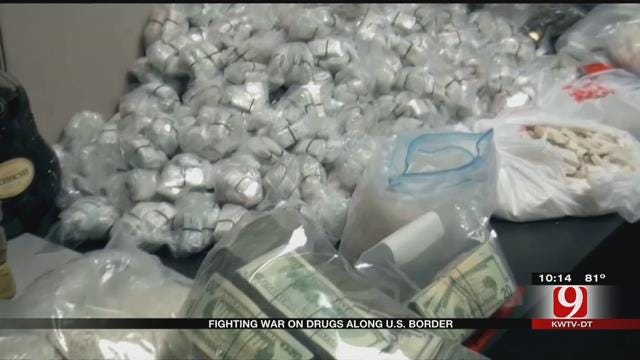 Fighting Drugs On The Mexican Border