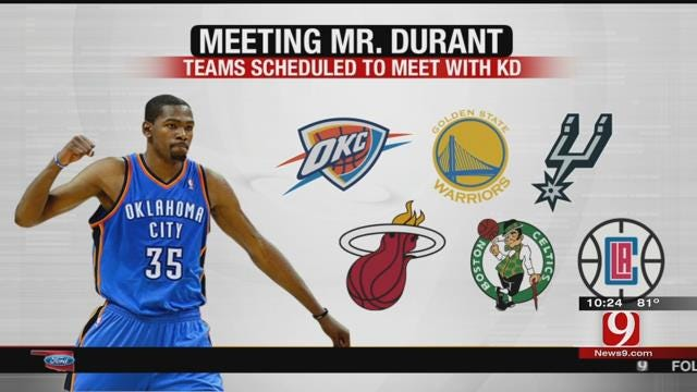 Carmelo Anthony Attempts to Recruit Kevin Durant to New York