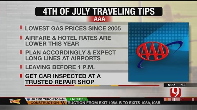 Travelers Expected In Droves This 4th Of July Weekend