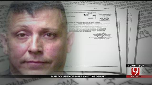 Charge Filed Against Man Accused Of Impersonating Deputy In OKC