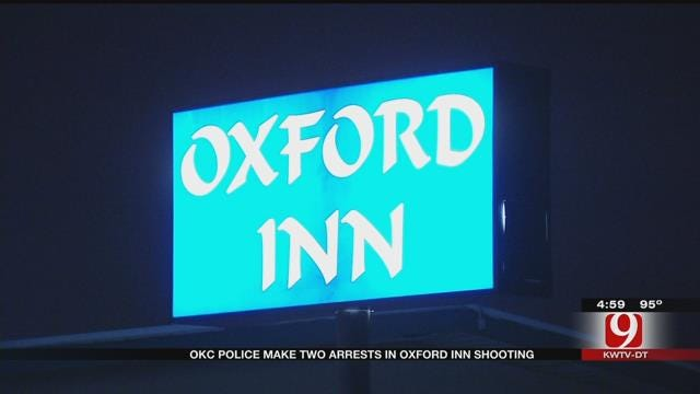 OKC Police Arrest Two In Connection With Oxford Inn Shooting