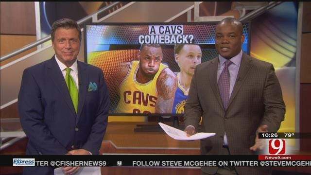 LeBron Delivers Championship To Cleveland