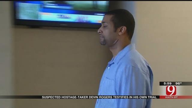 Norman Hostage-Taker Devin Rogers Testifies In His Own Trial