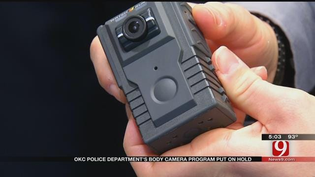 OKC Police Chief To Hold News Conference On Removing Bodycams