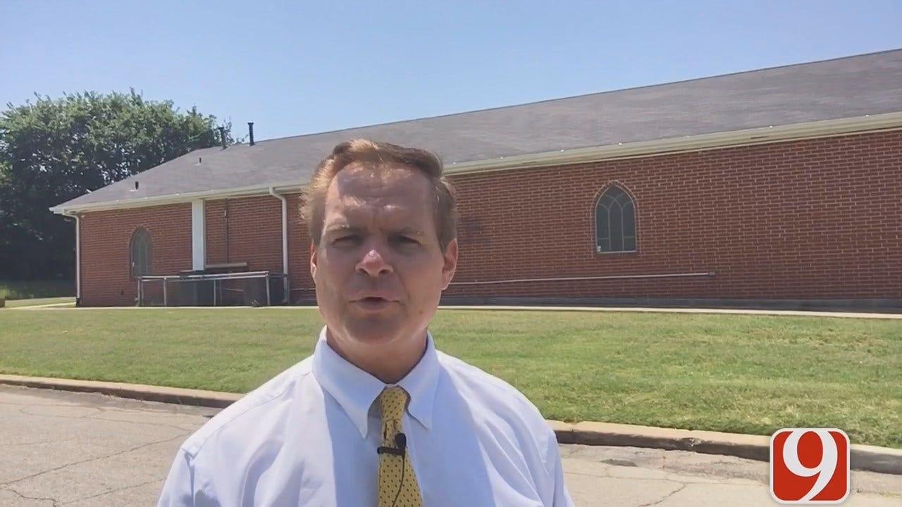 WEB EXTRA: Pastor Responds After Vandal Paints Racial Slur On OKC Church Building