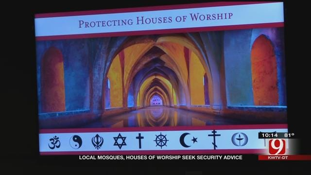 Hundreds Attend Forum About Protecting Houses Of Worship