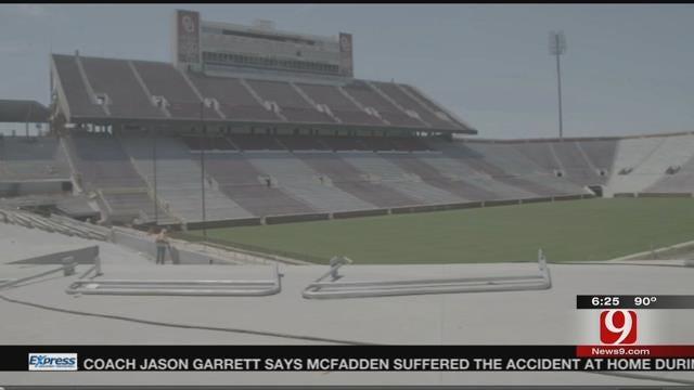 OU Stadium Renovation Coming Along