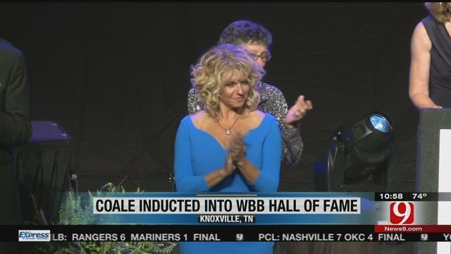 Sherri Coale Inducted Into Women's Basketball Hall Of Fame